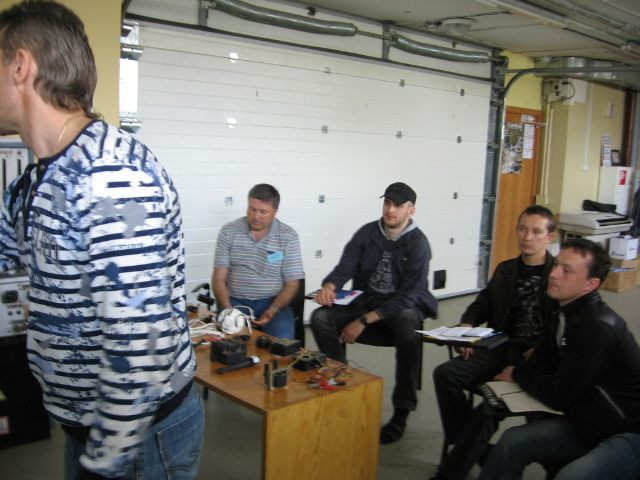 Курсы автоэлектриков (теория) 9-14 мая 2011 года.