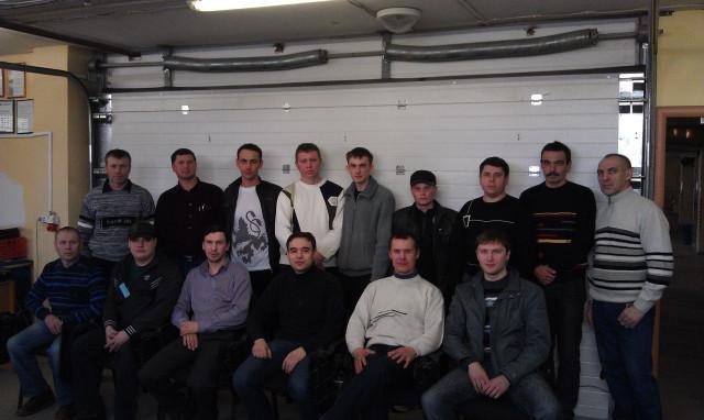 Выпускники курсов диагностов 24 марта 2012 года