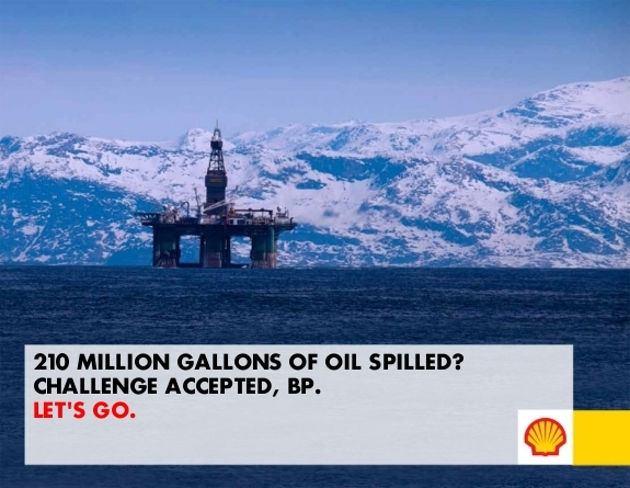 загрязнение арктики - BP