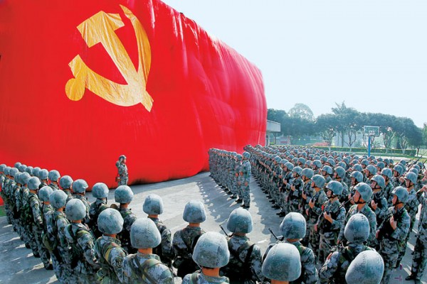 Китай морально готовится к войне