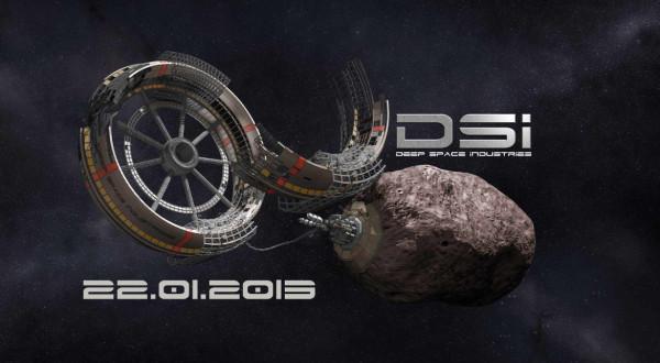 Космос. Новый проект добычи полезных ископаемых на астероидах