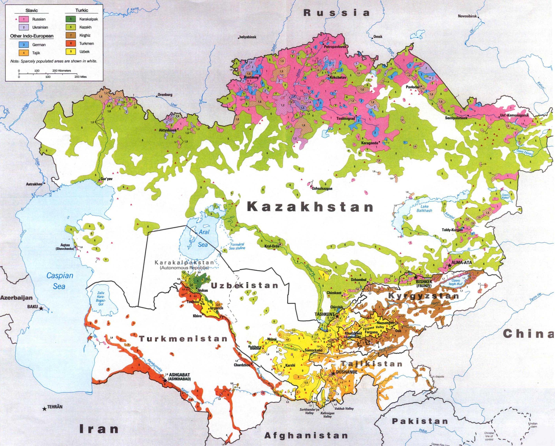 Картинки по запросу плотность населения в казахстане