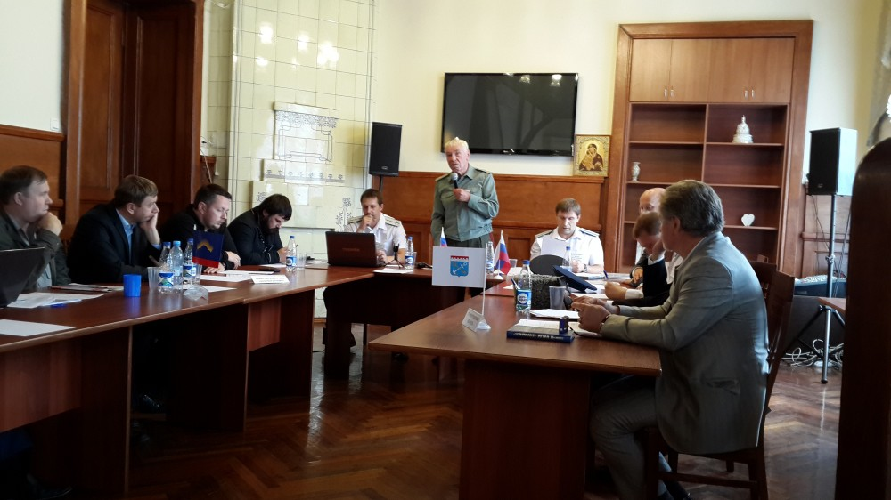 I съезд Экономического Союза окружных (отдельских) казачьих обществ Северо-Западного федерального округа в Санкт-Петербурге 24 августа 2013 года