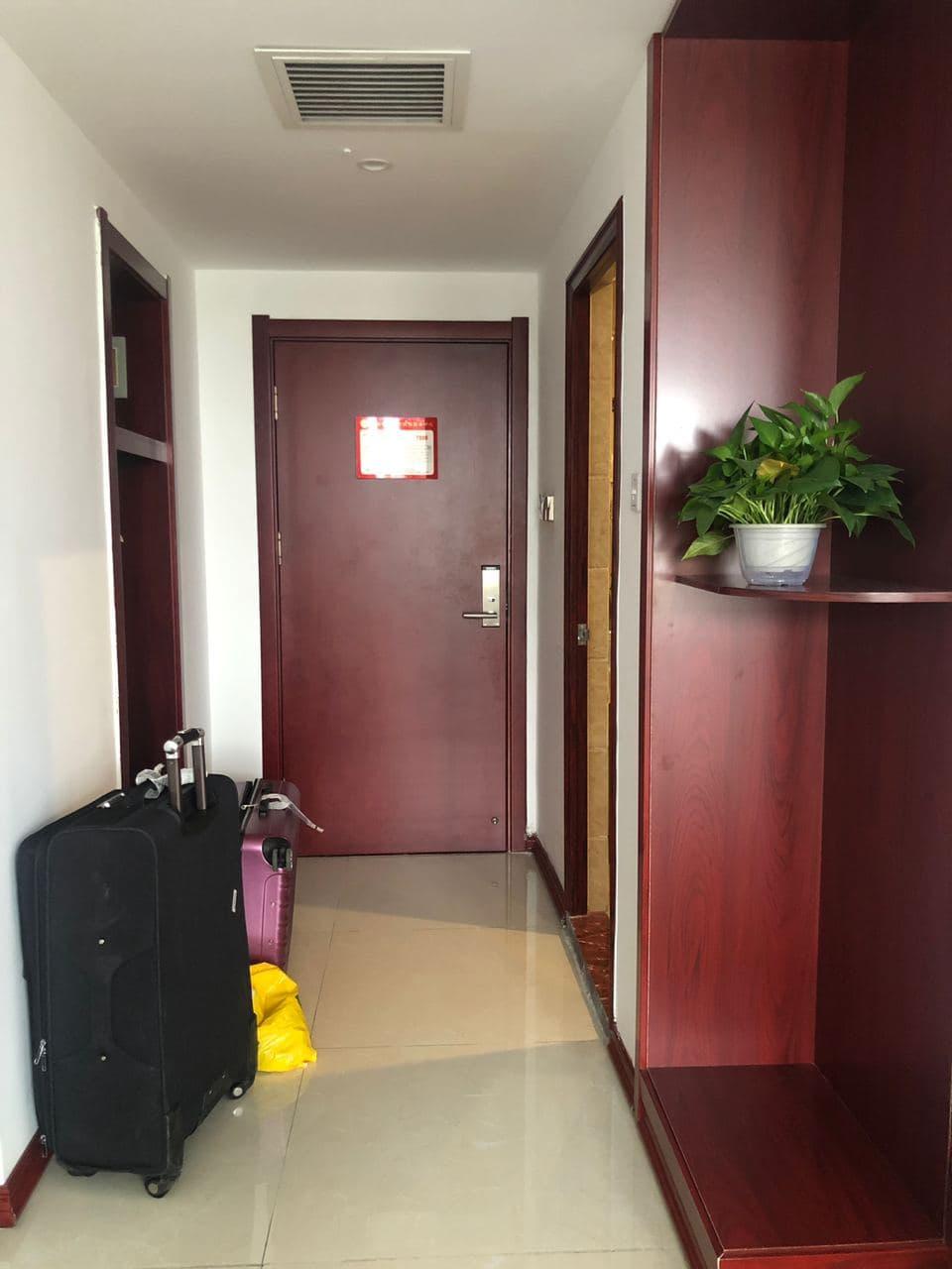 Китайский карантин, отель