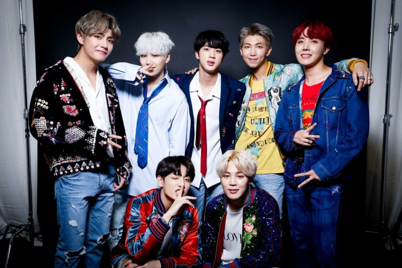 BTS — южнокорейский бойбенд