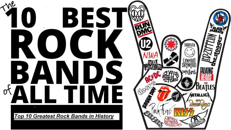 10 самых влиятельных рок-групп