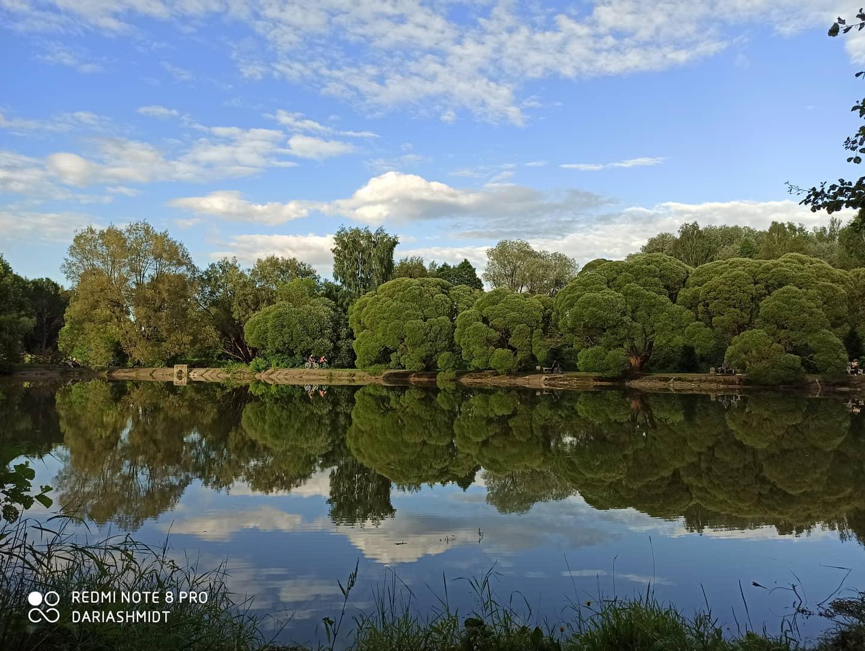 Москва, Измайловский парк, Декоративный пруд