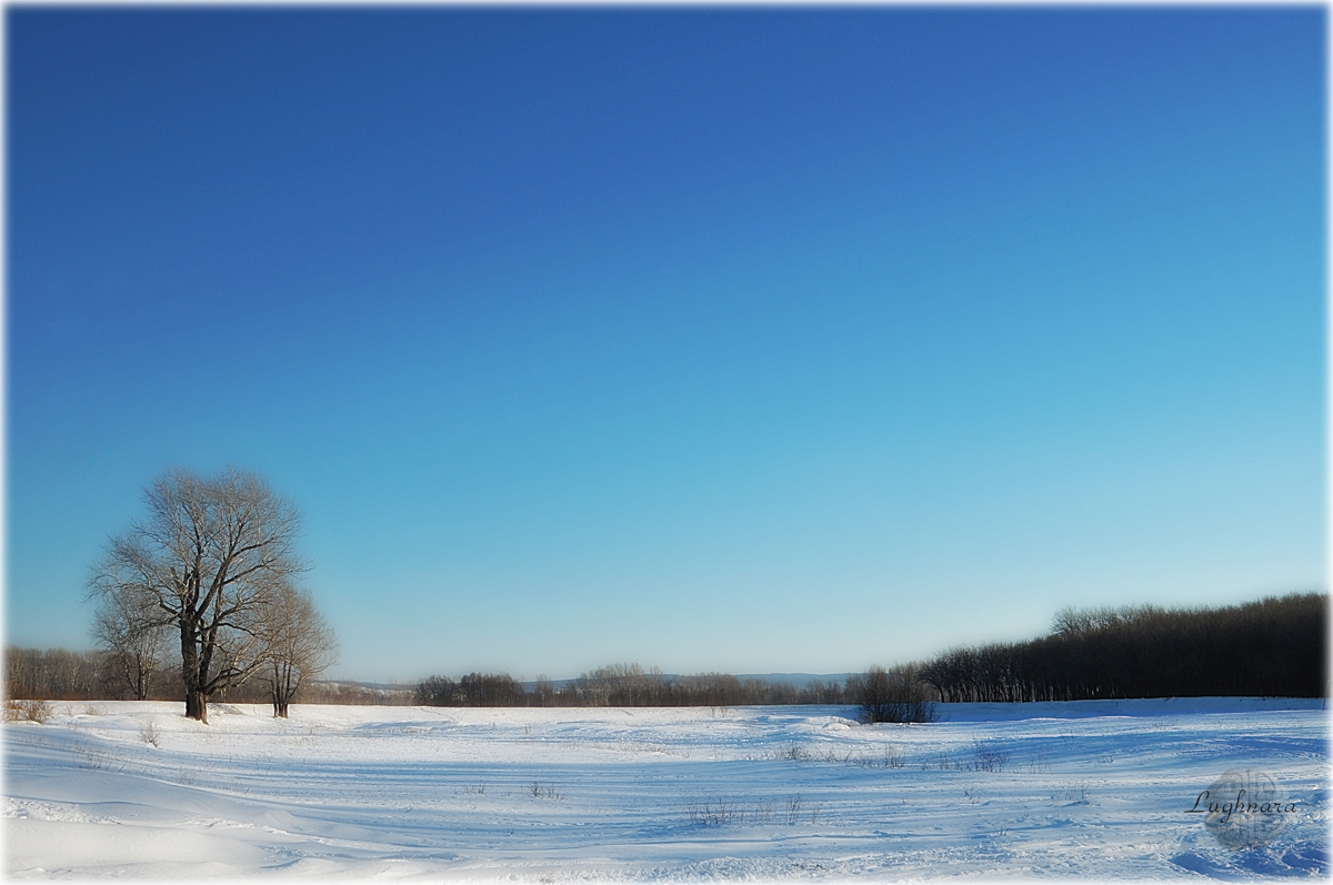 Зимняя равнина