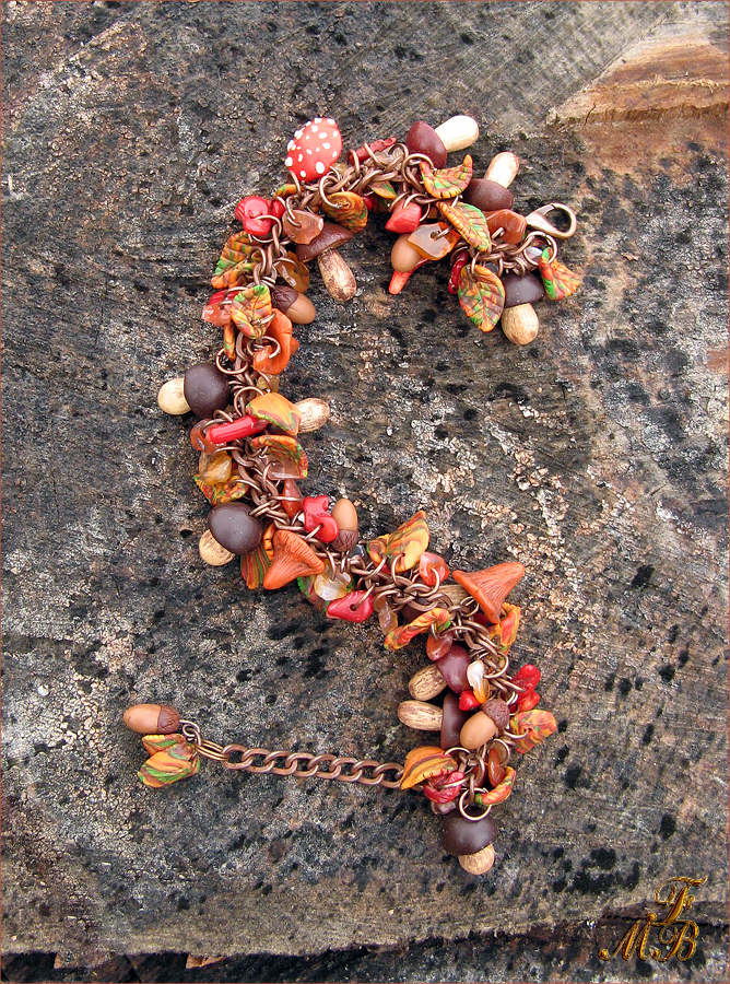 Браслет Дары осеннего леса