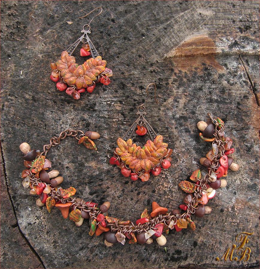 Гарнитур Дары осеннего леса