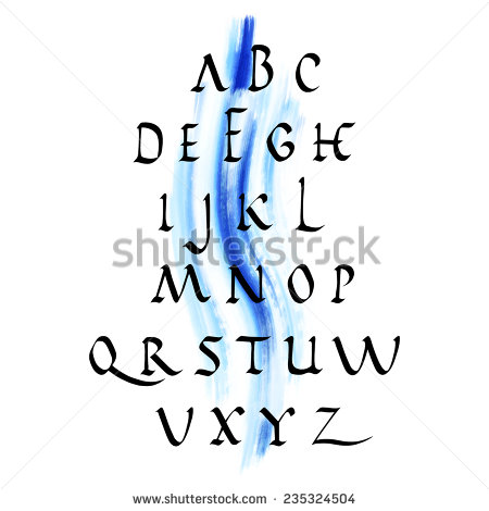 stock-vector-vector-alphabet-hand-drawn-letters-with-watercolor-background-235324504