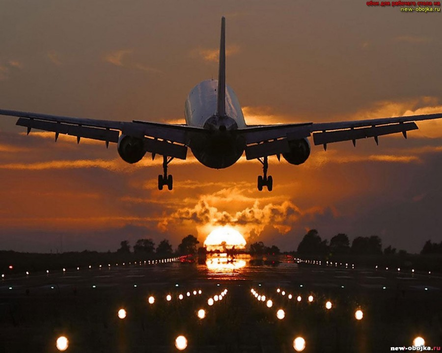 счастливого пути картинки самолет