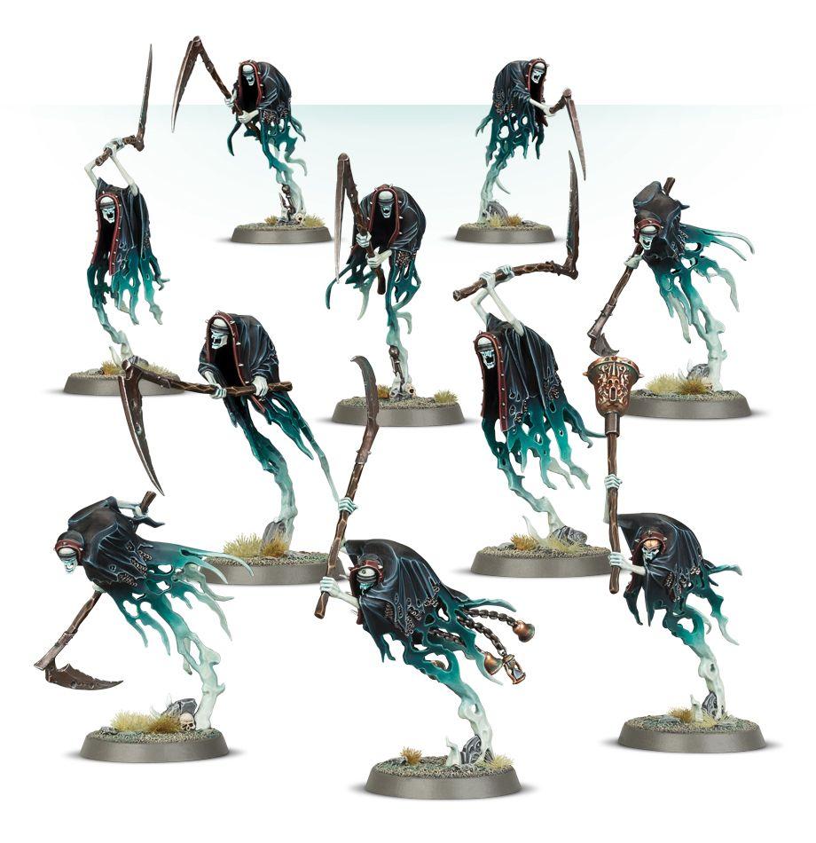 Nighthaunt Grimghast Reapers Games Workshop Warhammer Age of Sigmar Death Ghosts
