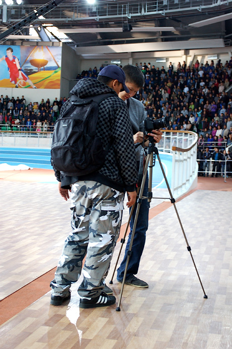Тимур из телепередачи Мой Спорт