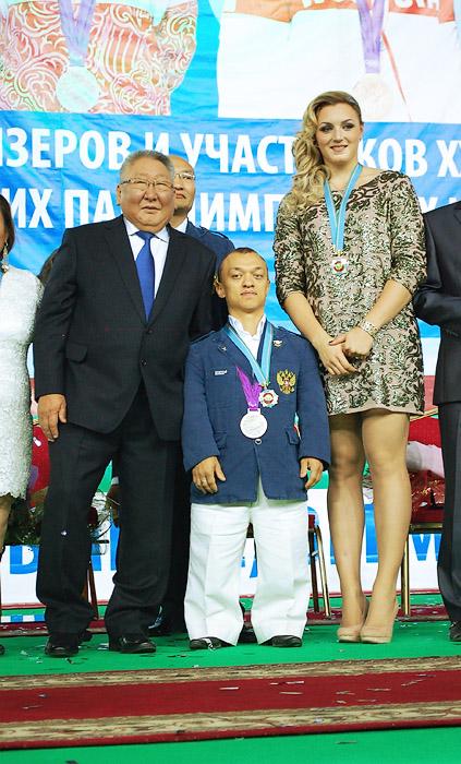 Президент и олимпийцы