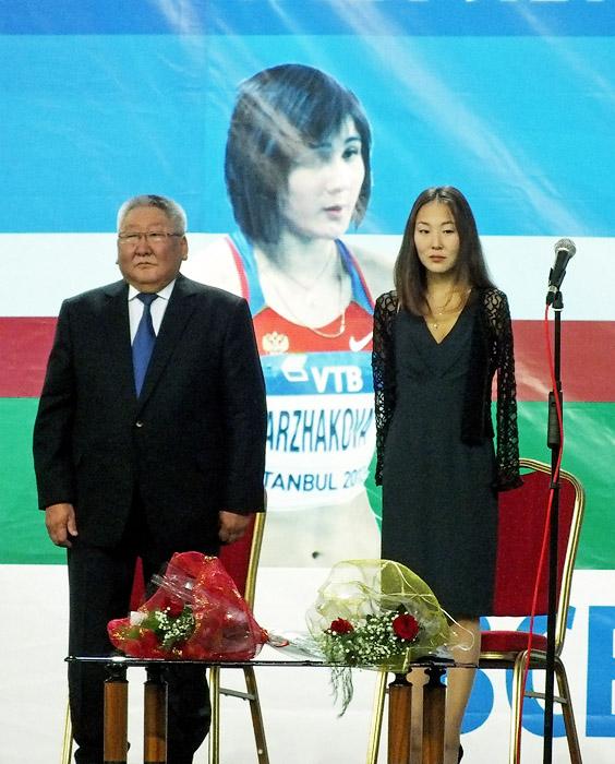 Президент и параолимпиец