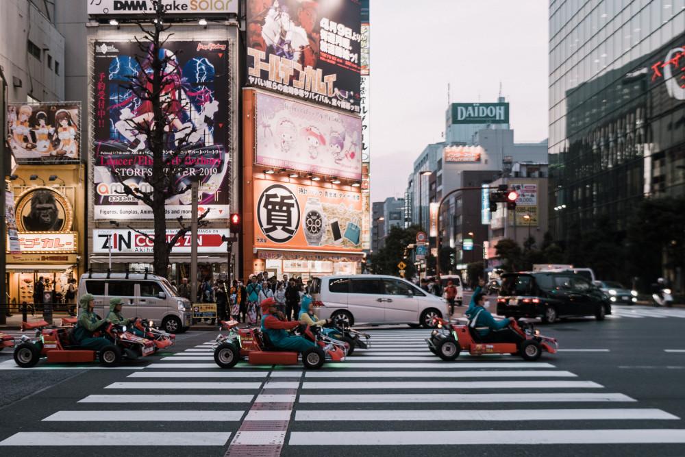 Неделя в Токио