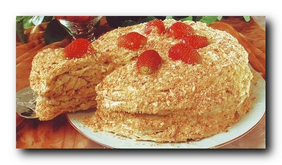 Торт наполеонс фото