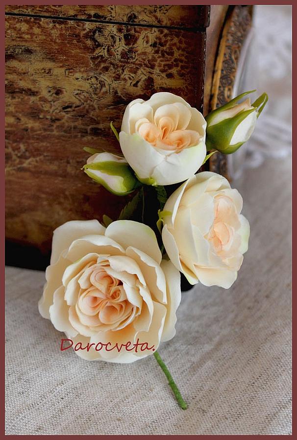 Как сделать пионовидную розу из мастики