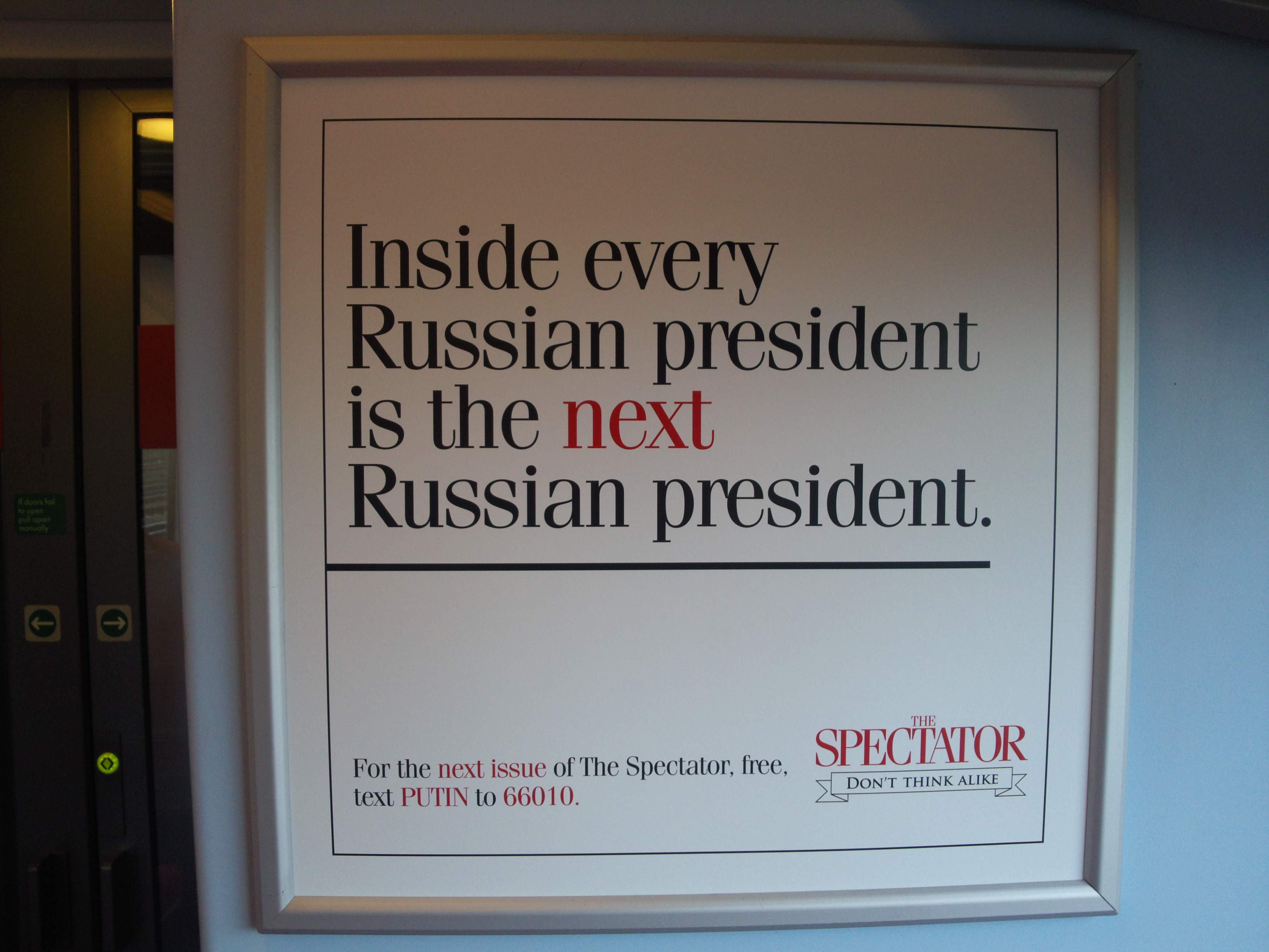 Putin Spectator