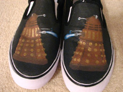 painted-dalek-shoes