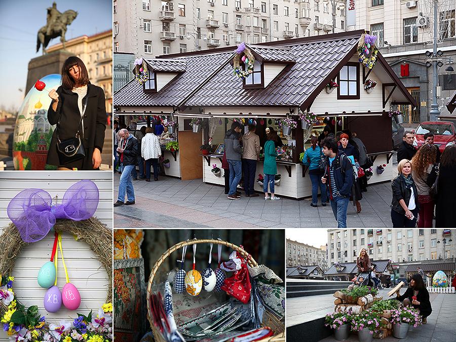 April, 19 - Пасха в Москве