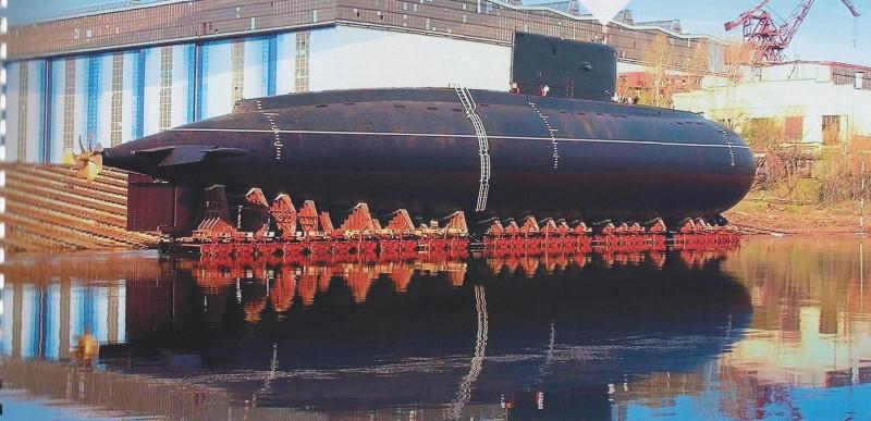 какие подводные лодки построила россия