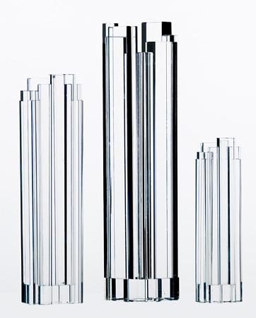 Оптовая ясно стеклянные вазы оптовая