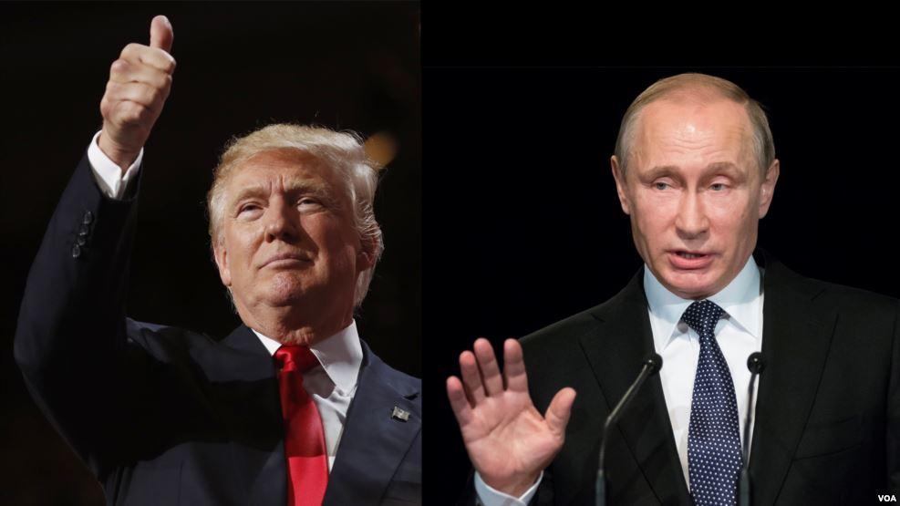 Президент РФ Владимир Путин поздравил Дональда Трампа с Днём независимости
