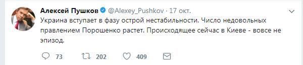 Новости России: Алексей Пушков был прав: митинг в Киеве – это эпизод не проходной