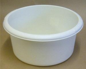 white wash bowl