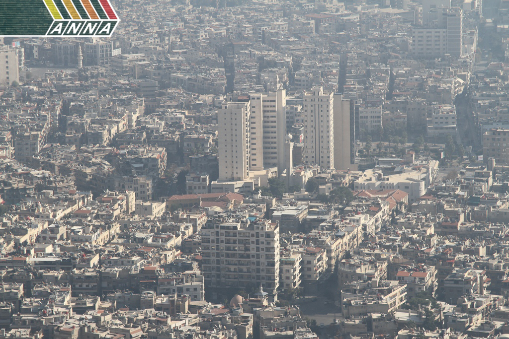 Panorama Damascus