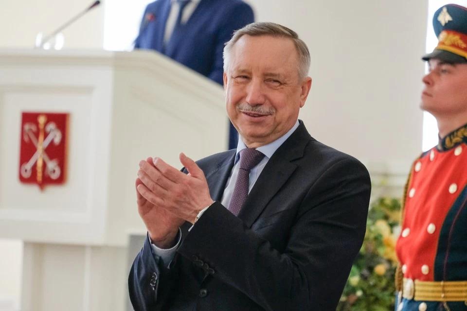 "Губернатор Александр Беглов: ""Подайте на пропитание!"""