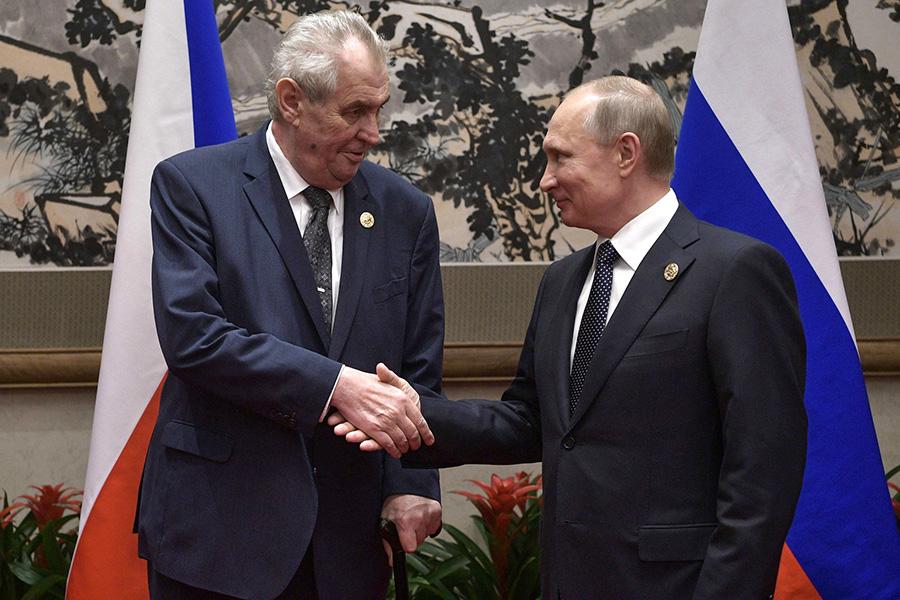 Земан и Путин