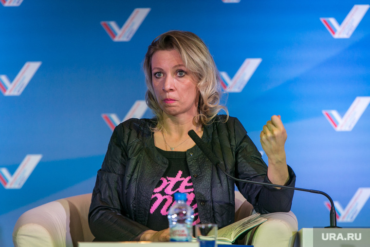 официальный представитель МИД РФ Мария Захарова