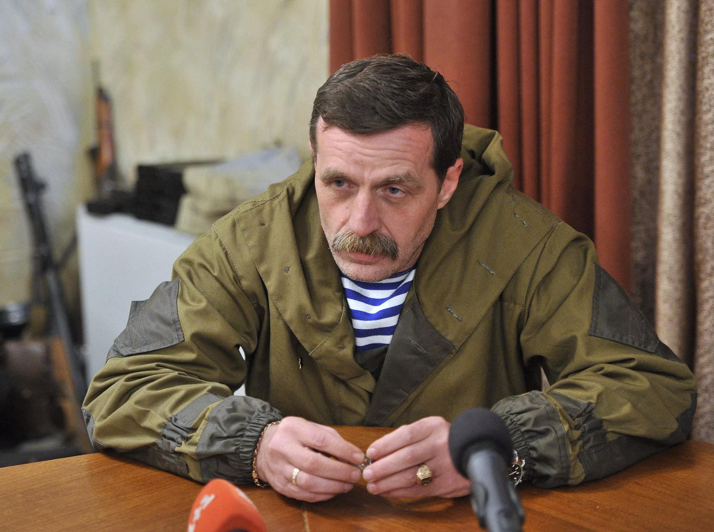 Главарь сепаратистов Безлер