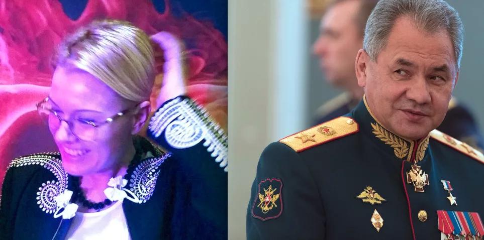 Елена Шебунова и проказник Шойгу