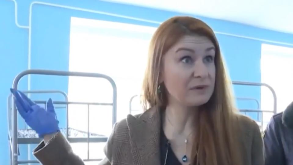 Мария Бутина в колонии Навального.