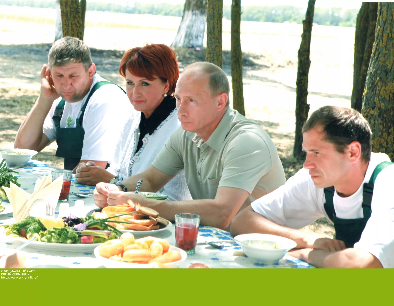 Скрынник с Владимиром Путиным