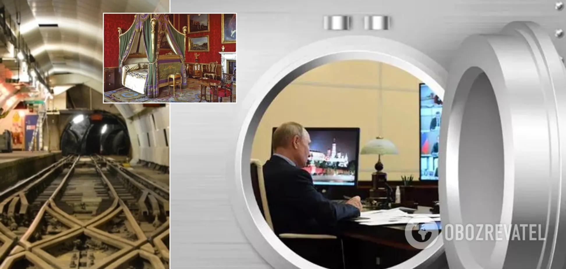 Президент России Путин в бункере