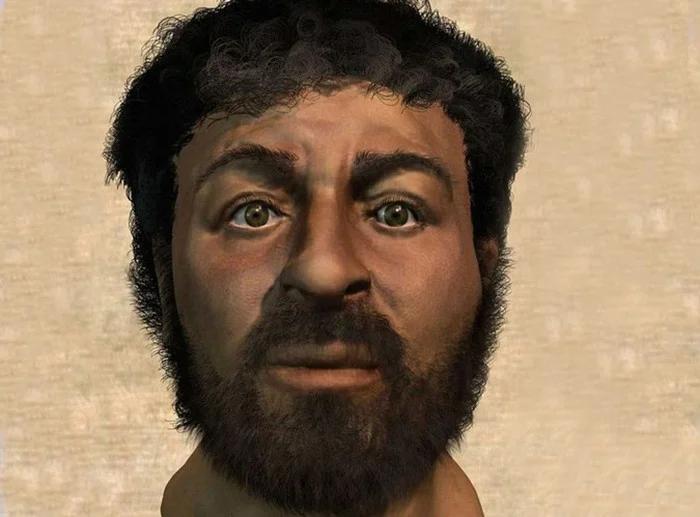 Реальный, восстановленный  портрет Иешуа (Иисуса Христа)