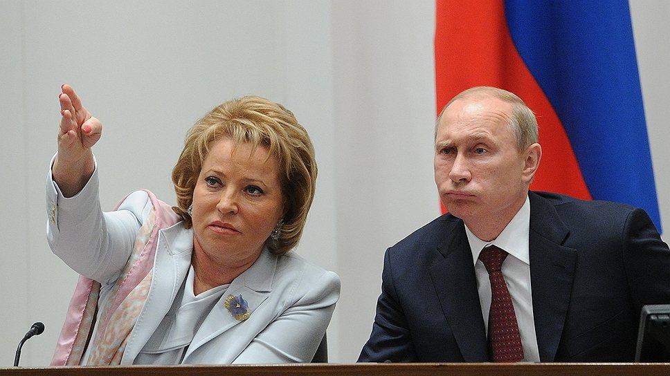 Матвеенко: губернаторы нарушают закон