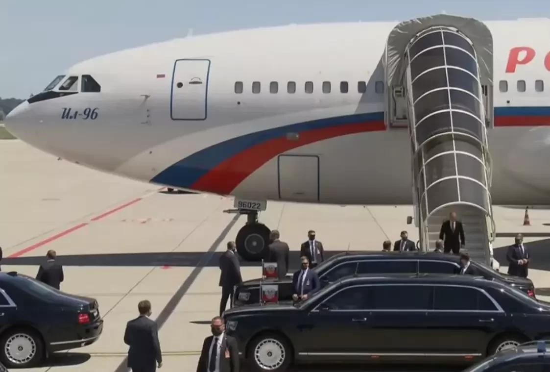Пуленепробиваемый трап для Путина