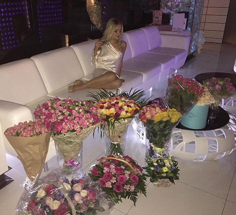 День рождения Лизы Песковой