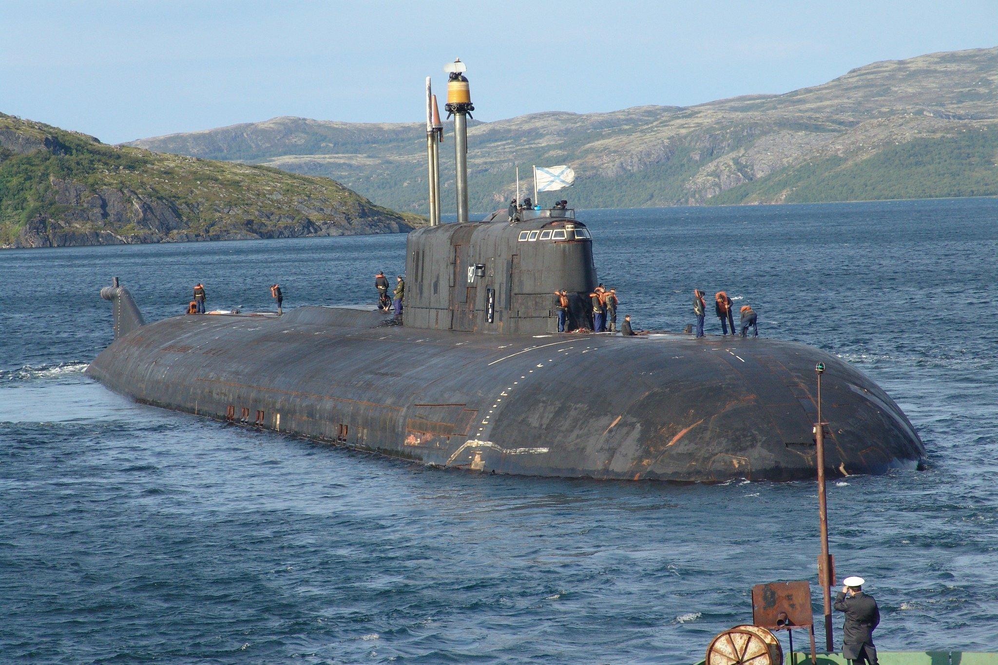 Подводная лодка Орел проекта 949