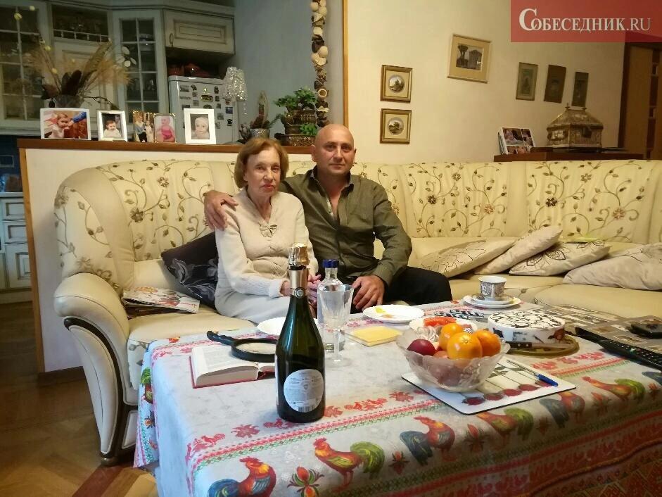Марфа Пешкова с внуком Лаврентия Берии Сергеем Лопатченко