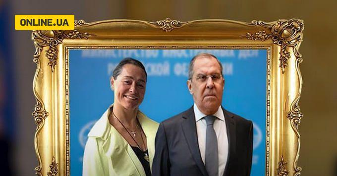 Светлана Полякова с Сергеем Лавровым