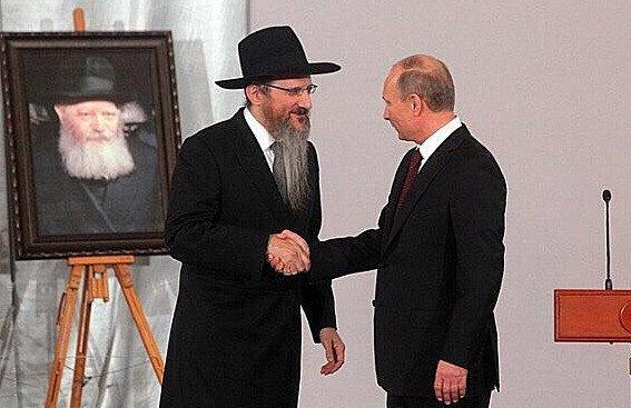 Путин благоволит к иудеям