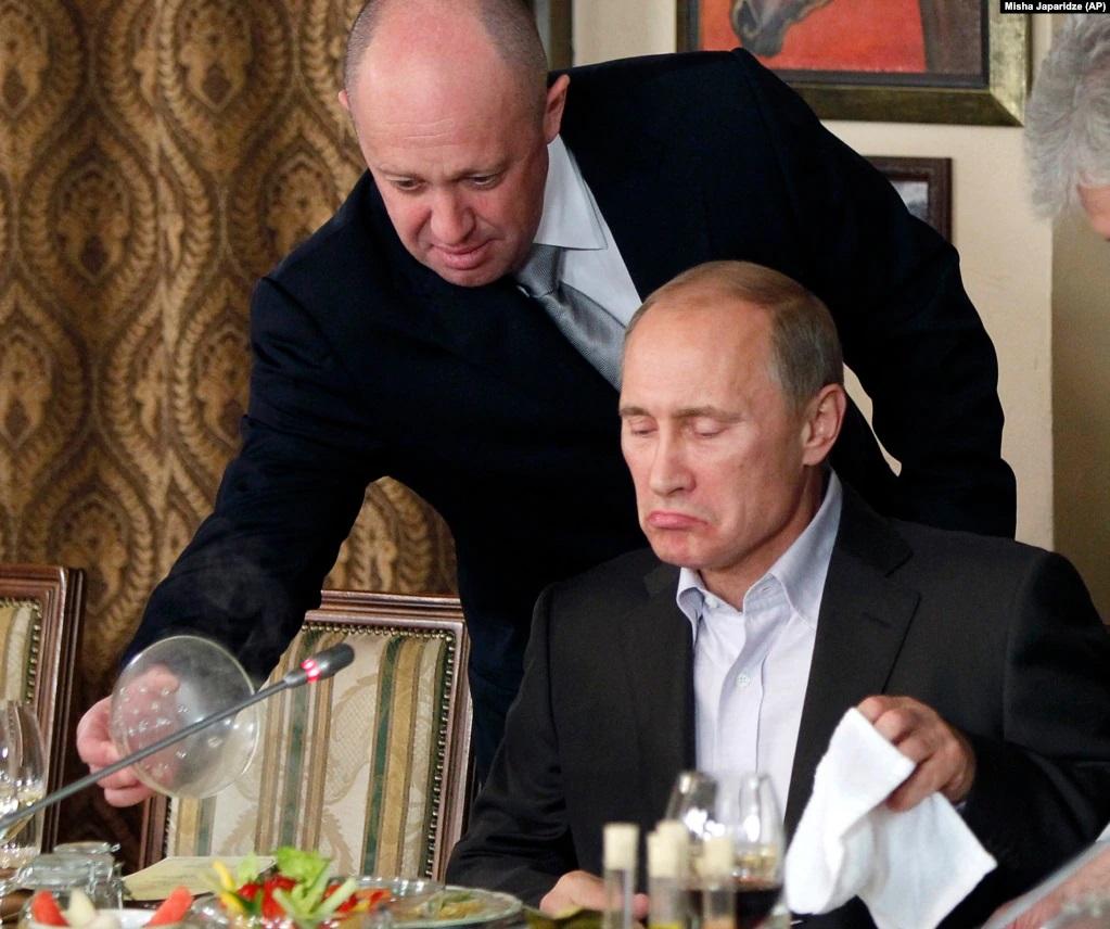 ПЕригожин и Путин