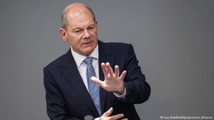 Олаф Шольц, кандидат в канцлеры ФРГ от СДПГ